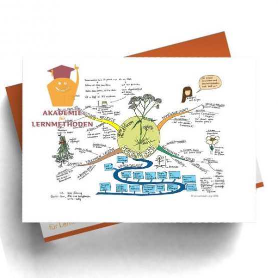 Mindmap Schafgarbe - Papierformat