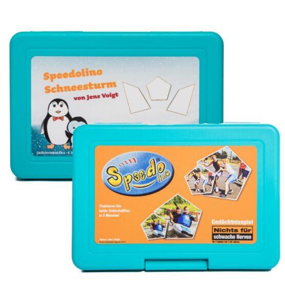 Speedolino-Schneesturm-Tiere
