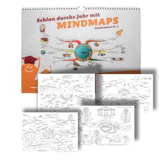Kalender 2020 Mit Lückenmindmaps