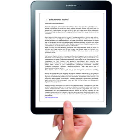 E-Book Sprachen lernen1