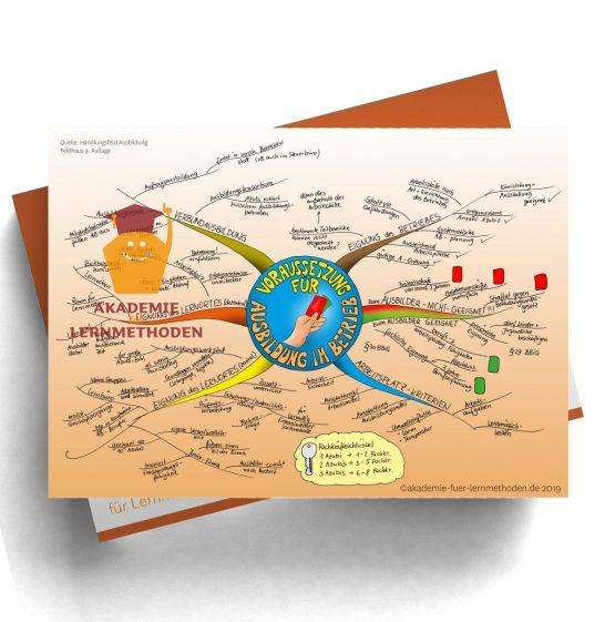 Mindmap für die AEVO über die Voraussetzung zur Ausbildung in einem Betrieb