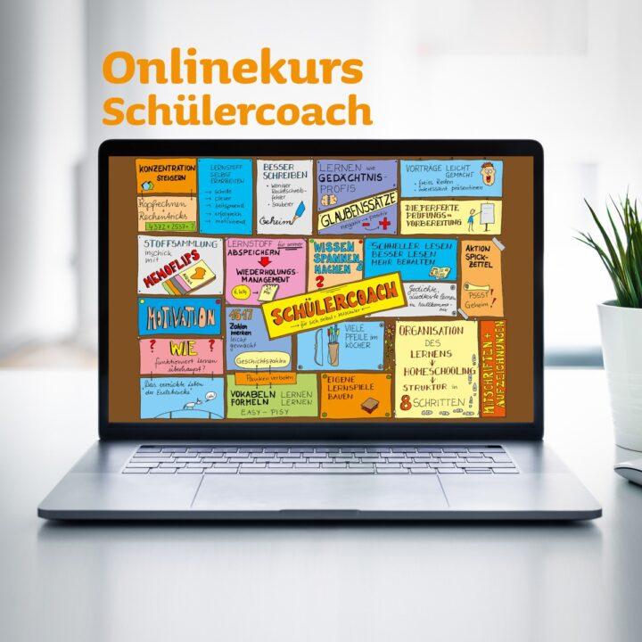 Onlinekurs für Schülercoaches zum Lerntrainer, als Hilfe in der Schule und im Studium