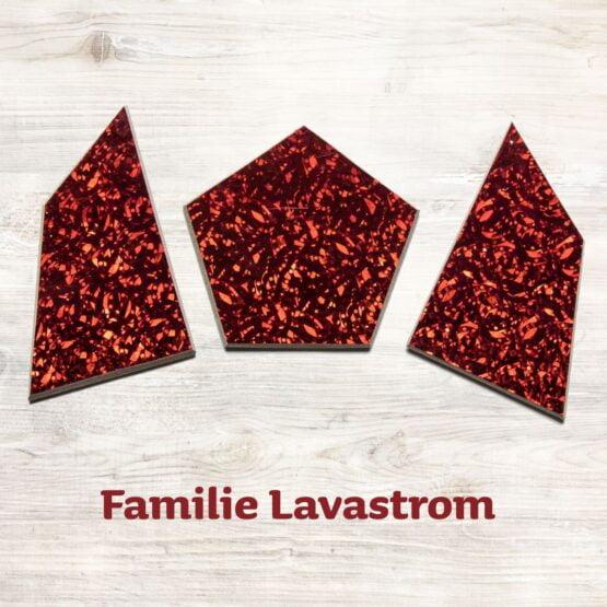 Familie Lavastrom für das Speedolino Schneesturm Spiel.