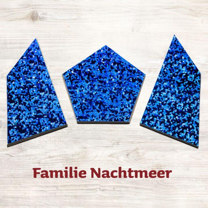 Familie Nachtmeer für das Speedolino Schneesturm Spiel.