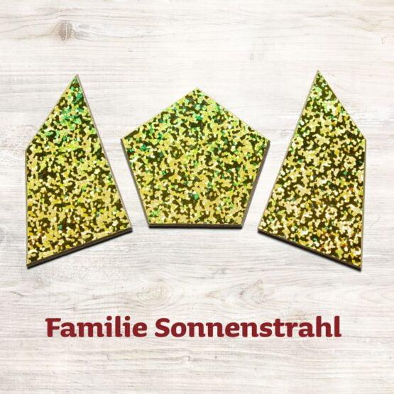 Familie Sonnenstrahl für das Speedolino Schneesturm Spiel.