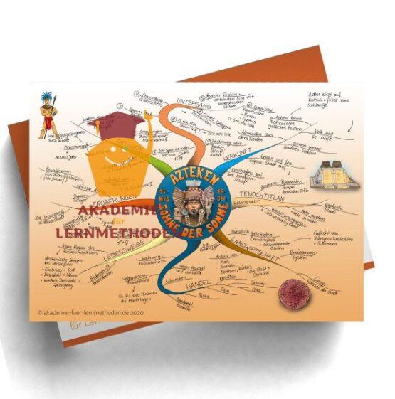 Mindmap zum Thema Azteken