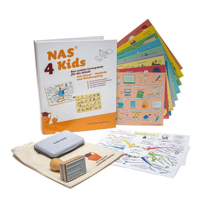 NAS4kids - Gedächtnistechnik mit Mindmapping für die Schule