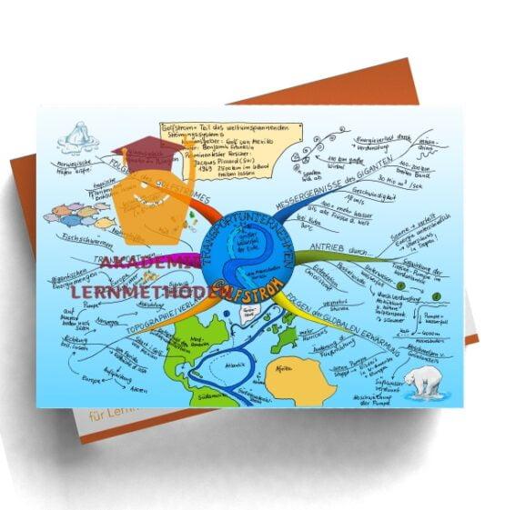 Mindmap zum Thema Golfstrom