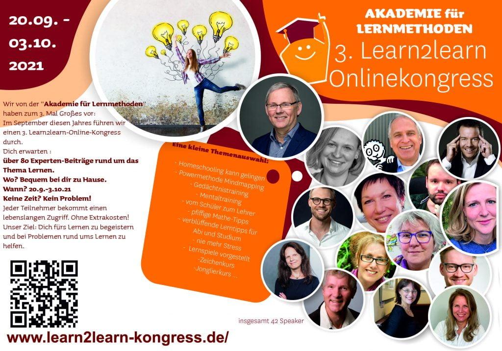 Einladung zum 3. Learn2learn- Kongress